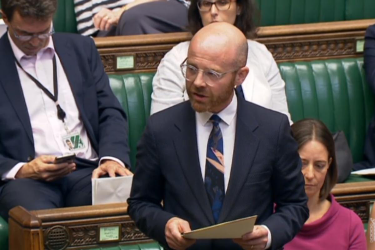 Martin Docherty-Hughes MP pleads for Universal Credit £20 uplift U-turn
