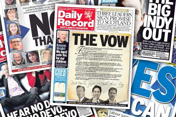 Clydebank Post: The Vow