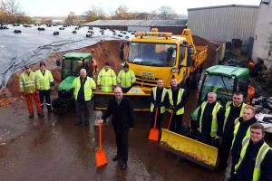 Grit workers gearing up for service in winter 2016