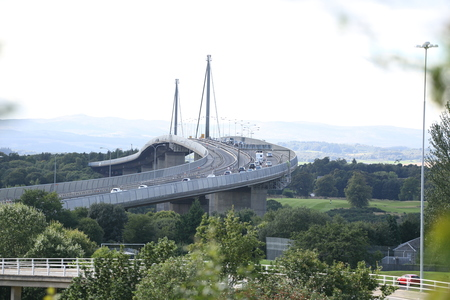 Erskine Bridge crash: Woman charged with dangerous driving