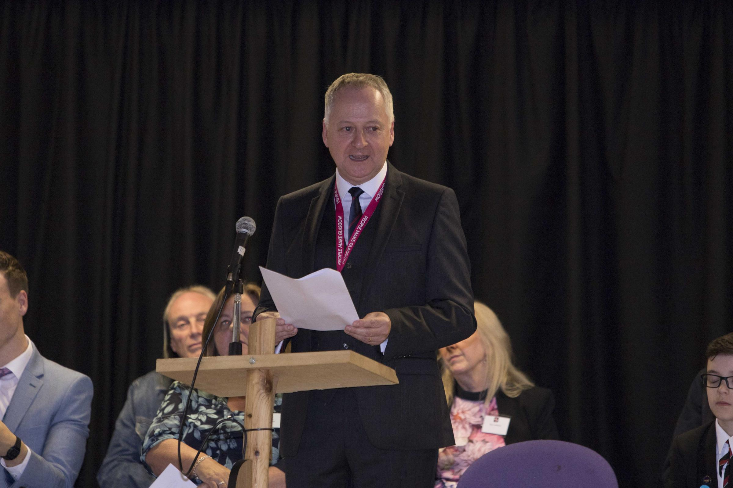 Drumchapel High head confirms he's moving to Helensburgh