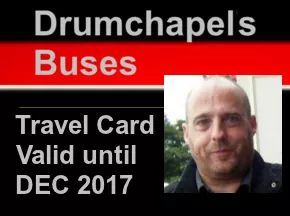 Trustee Will Thomson on a sample travel card