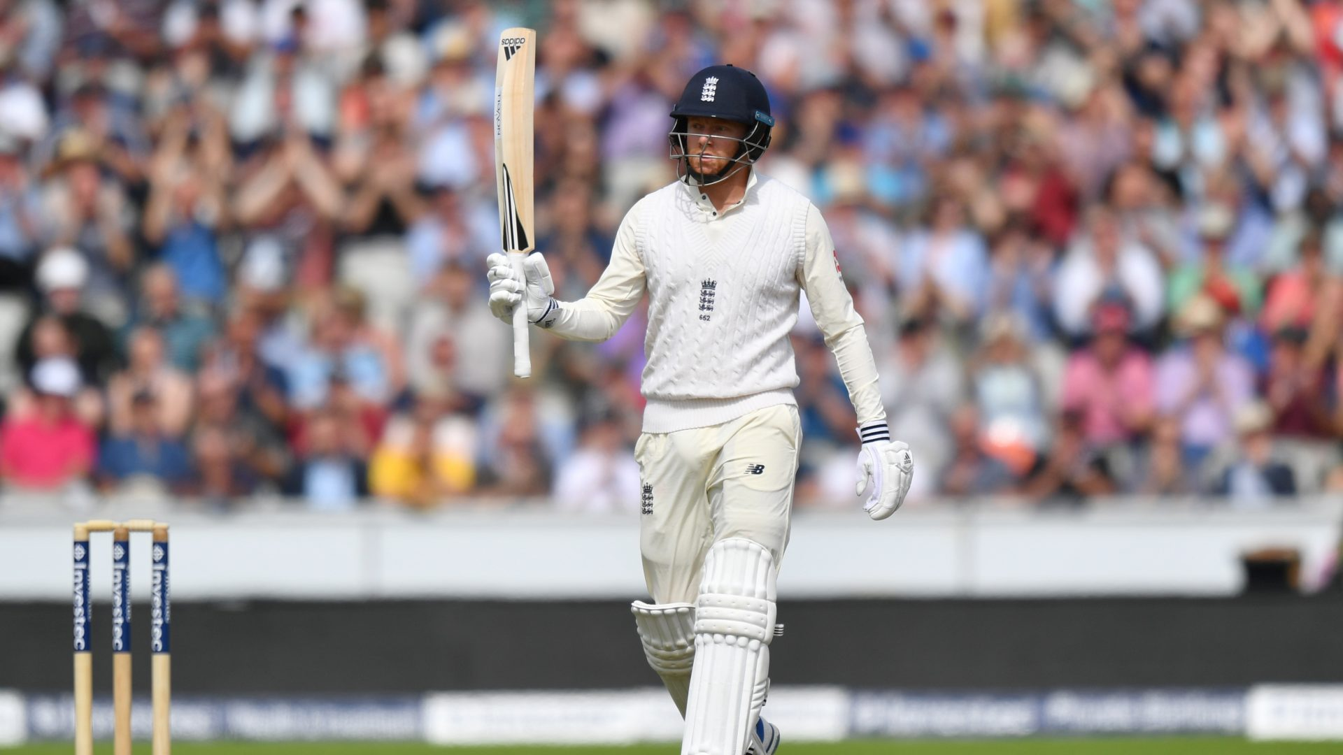 Jonny Bairstow is hoping to reach 100 Test caps for England
