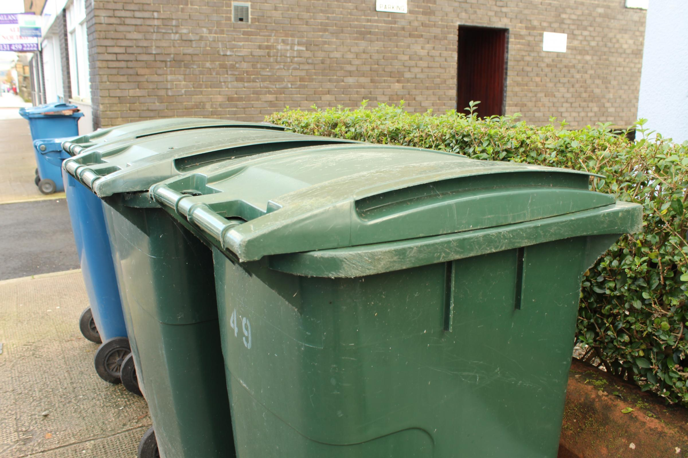 Complaints over bin collections are rising in West Dunbartonshire