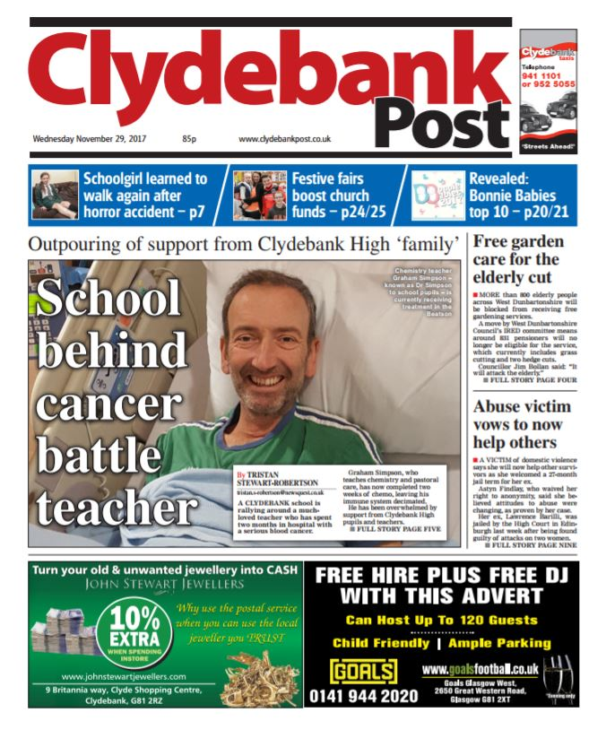 Clydebank Post: Ten reasons to pick up this week's paper
