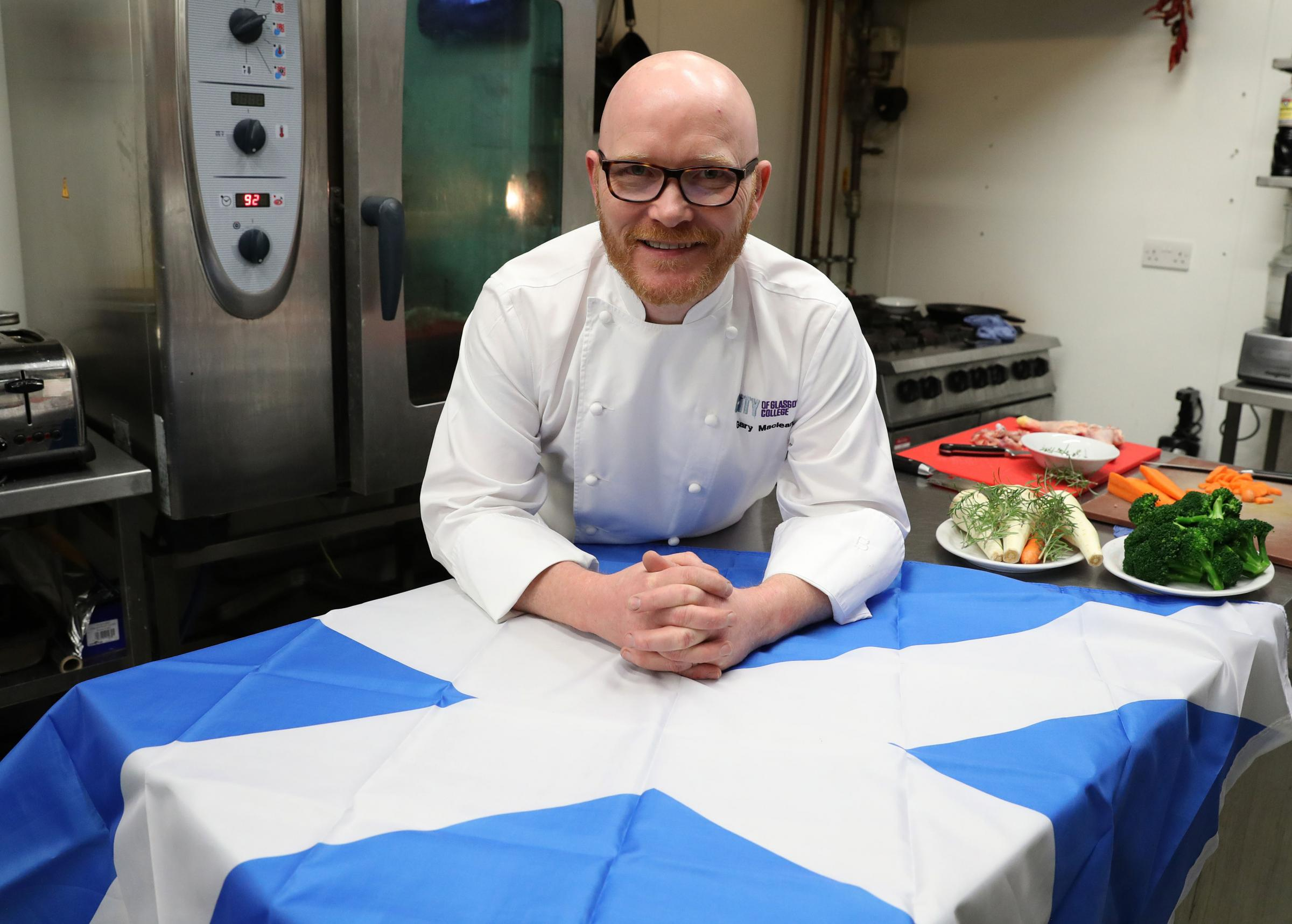 Gary Maclean who has been named Scotland's first National Chef by the Scottish Government