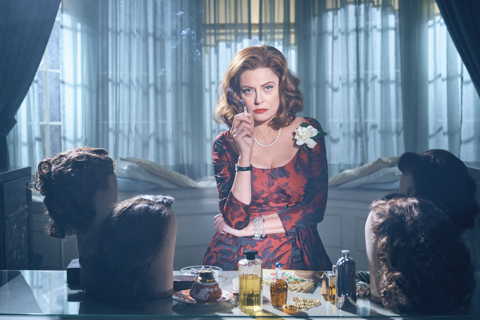 Susan Sarandon as Bette Davis (BBC /Fox)