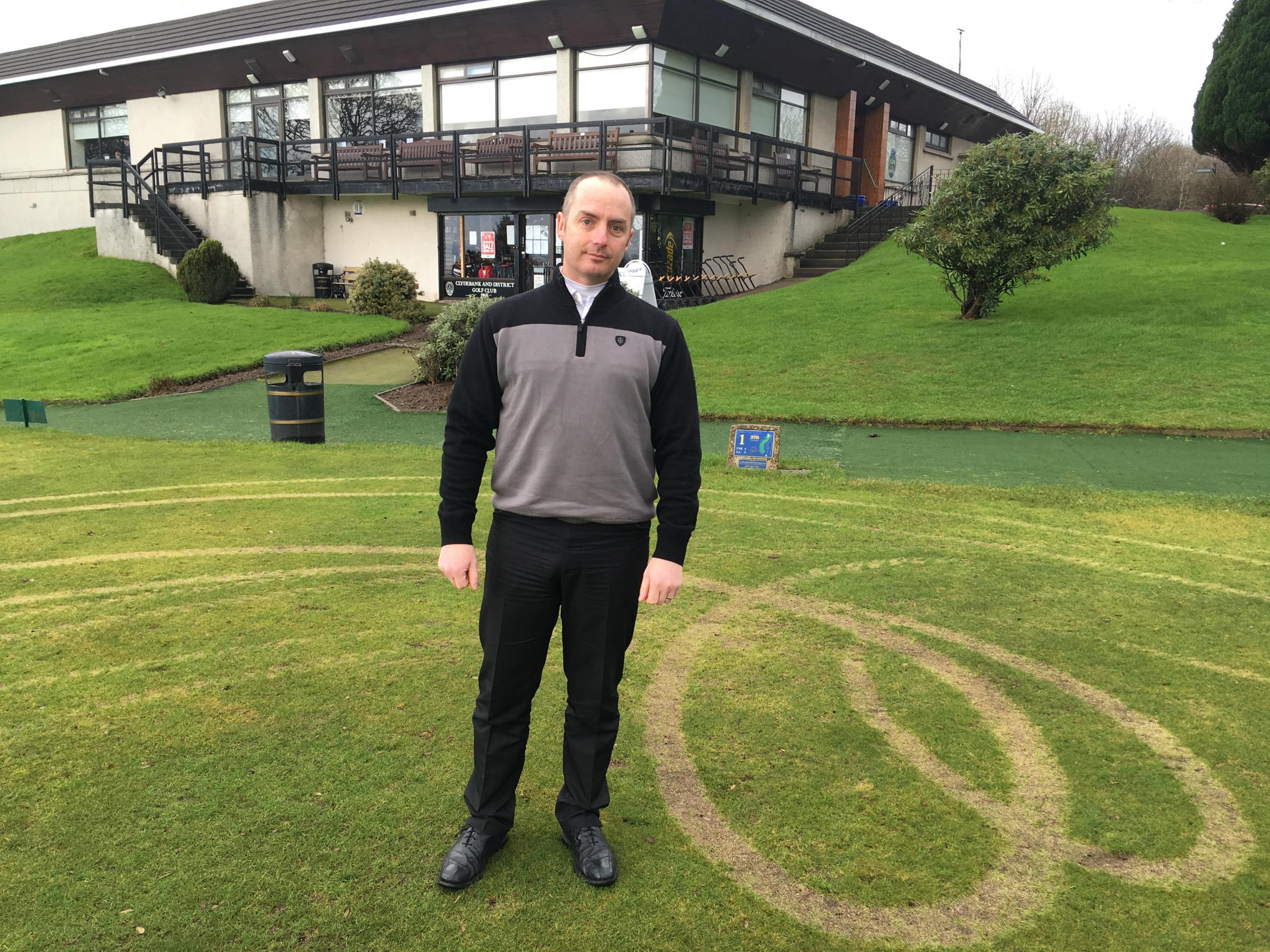 Staff at Clydebank and District Golf Club have hit out at thoughtless quadbike drivers