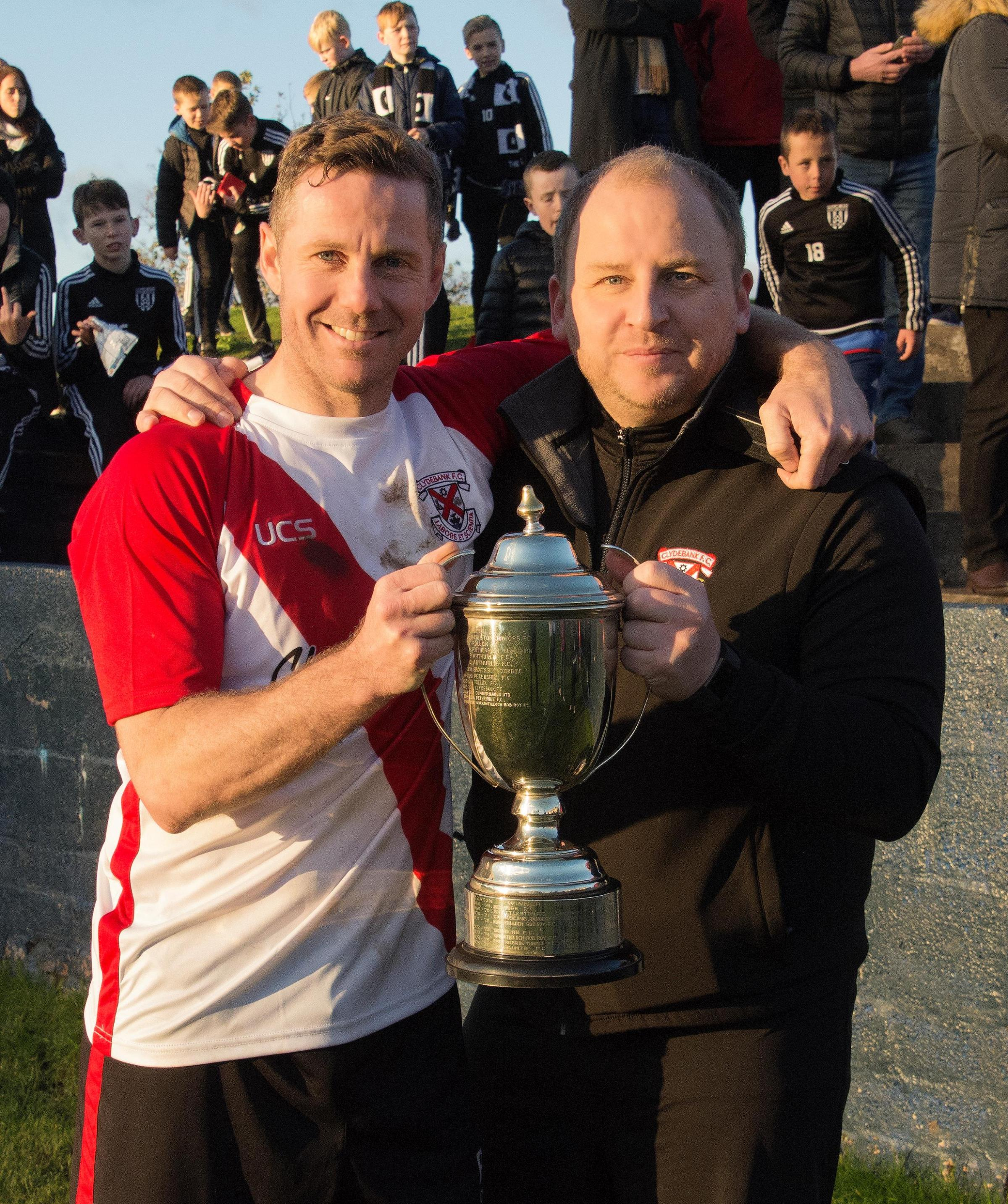 Clydebank manager Kieran McAnespie keen to take Bankies back to the seniors