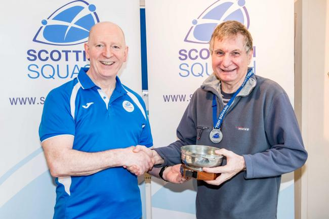 Veteran Clydebank squash player crowned national champion