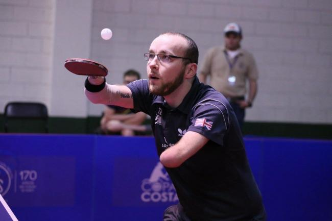 Drumchapel table tennis star to head to Slovakia