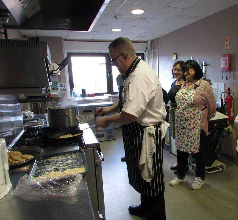 Clydebank foodies cook up a storm