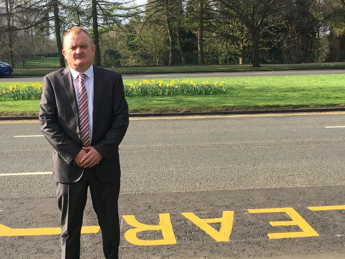 Calls for 'selfish' parents to stop illegally parking at Knightswood primary school