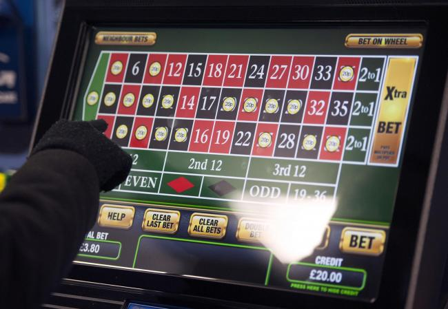 The government has said the maximum bets should be limited. Photo: Daniel Hambury/PA Wire