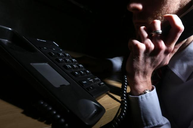 The 60-year-old received a fake phone call