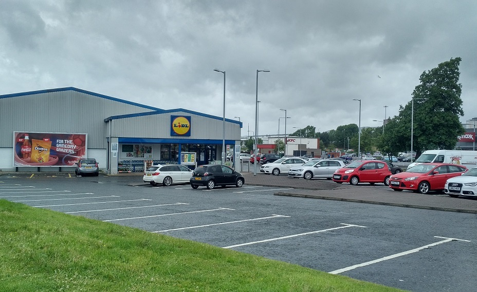 Clydebank's Lidl closes today