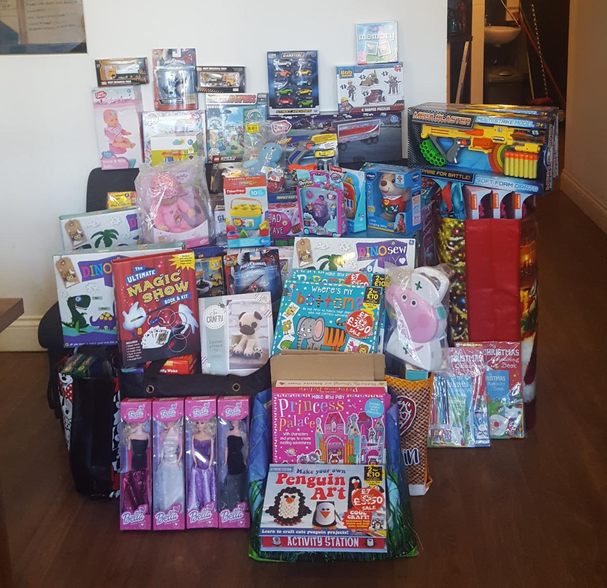 Appeal to donate Christmas gifts to make a child smile this season ...