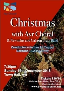 Christmas with Ayr Choral