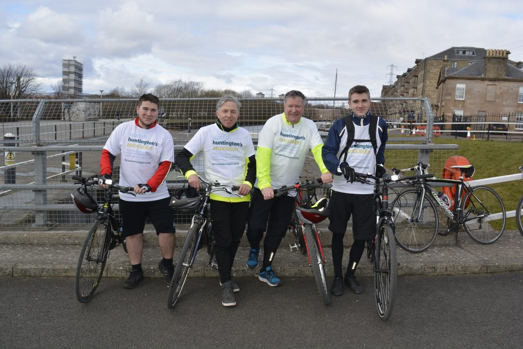 Riders will cross all bridges from Dalmarnock to Bowling