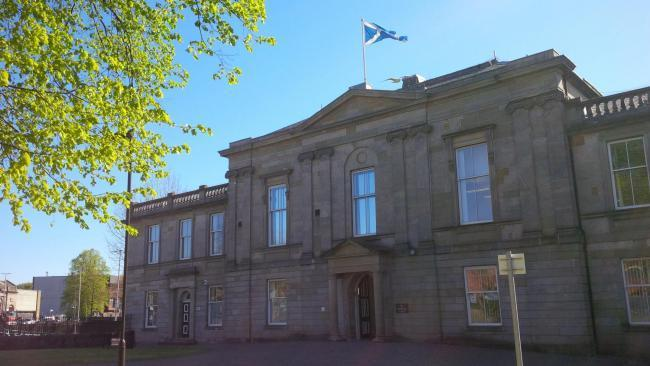 Dumbarton Sheriff Court, where Paul Randles was sentenced on June 28