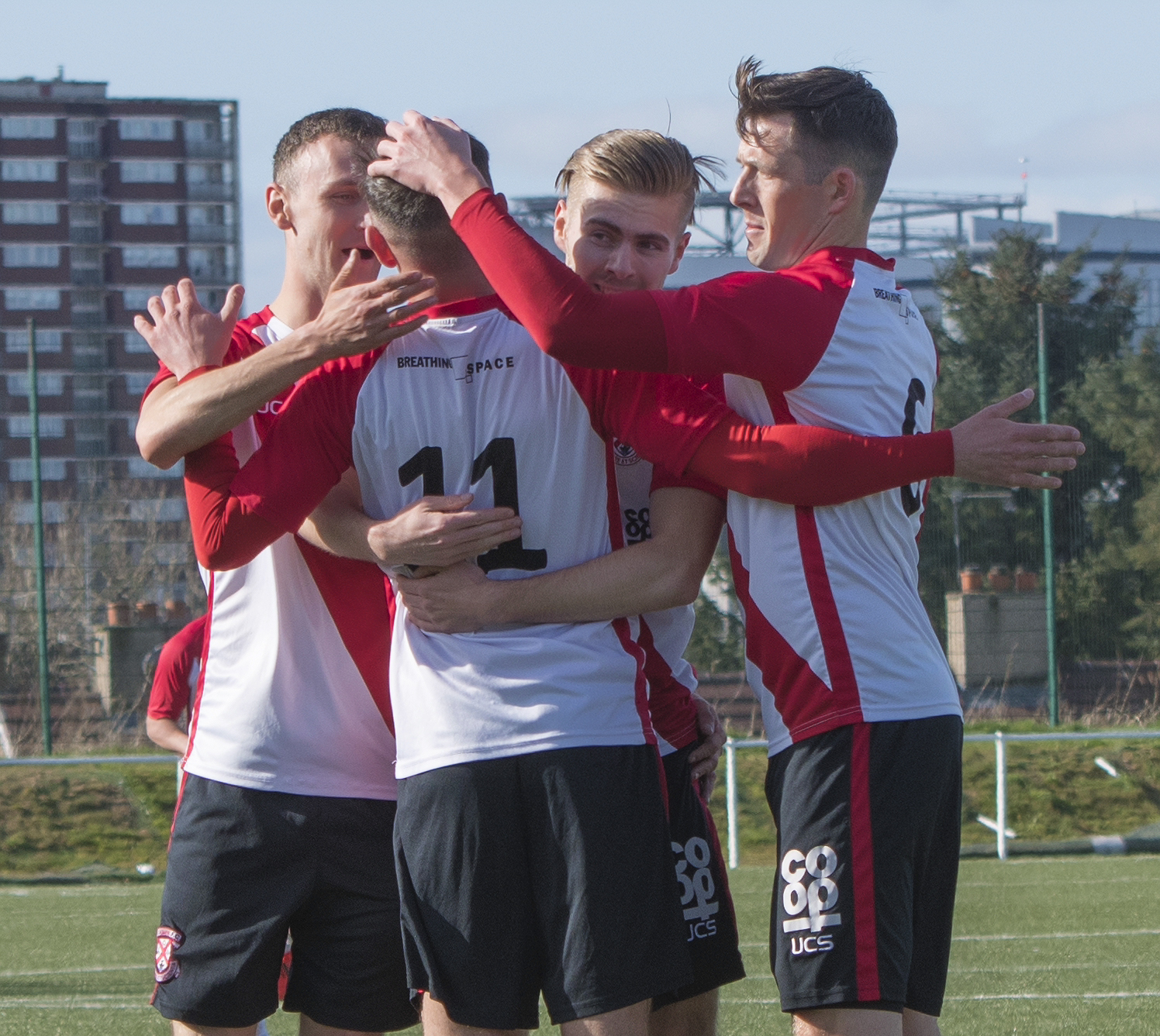 Clydebank 2 v 2 Cumnock McBookie.com West Region Premiership New Tinto Park Saturday 30th March 2019