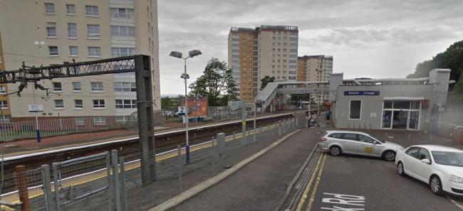Aitchison admitted attempting to assault a police officer after refusing to leave a train at Dalmuir station