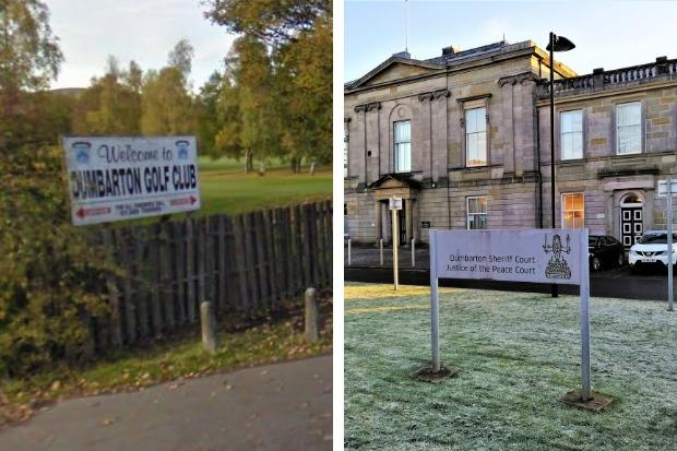 Ferrie, a former youth convener at Dumbarton Golf Club, was spared prison when he appeared at Dumbarton Sheriff Court on April 18
