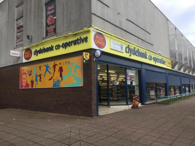 The Clydebank Co-op store in Dalmuir