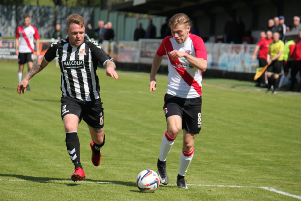 Cammy McClair set up Clydebank's only goal of the game as Beith comfortably saw it out