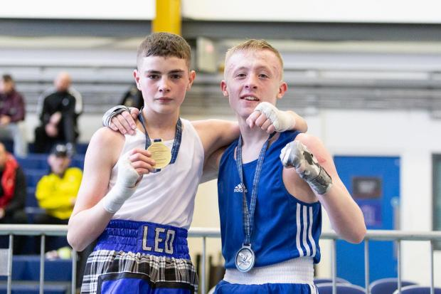 Clydebank Post: Leo will be looking to add to his medal haul next month at the Tri-Nations Championships