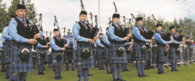 Lomond and Clyde Pipe Band