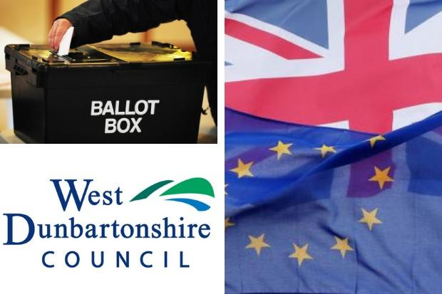 The European Parliament election result in West Dunbartonshire was declared in the early hours of May 27