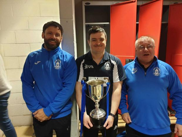 Clydebank Post: Singer lifted the trophy for the second time in three seasons