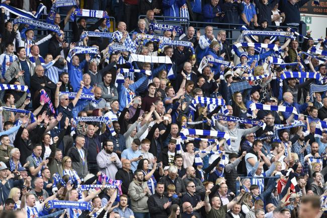 Kilmarnock fans celebrate qualifying for Europe and can now also look forward to ground improvements they have funded