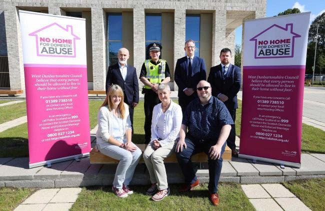 The scheme was launched was launched by the council in partnership with Police Scotland, Women's Aid and the Scottish Federation of Housing Associations